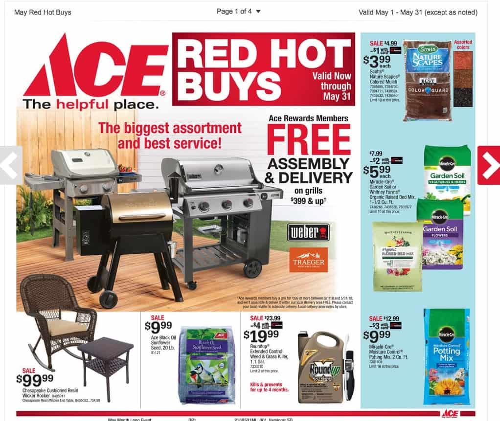 Ace Hardware Jackson TN May Sales