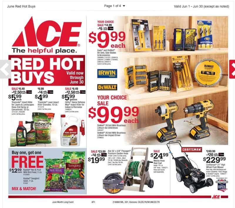 June Sales Flyer Ace Hardware