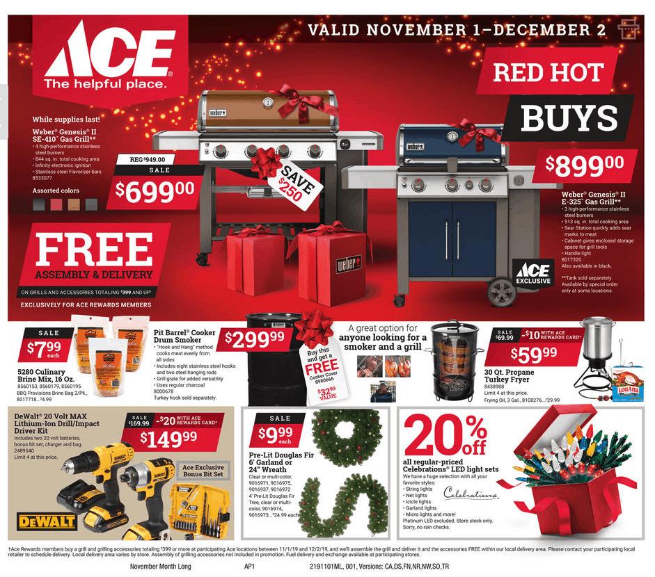 Ace of Jackson November Sales