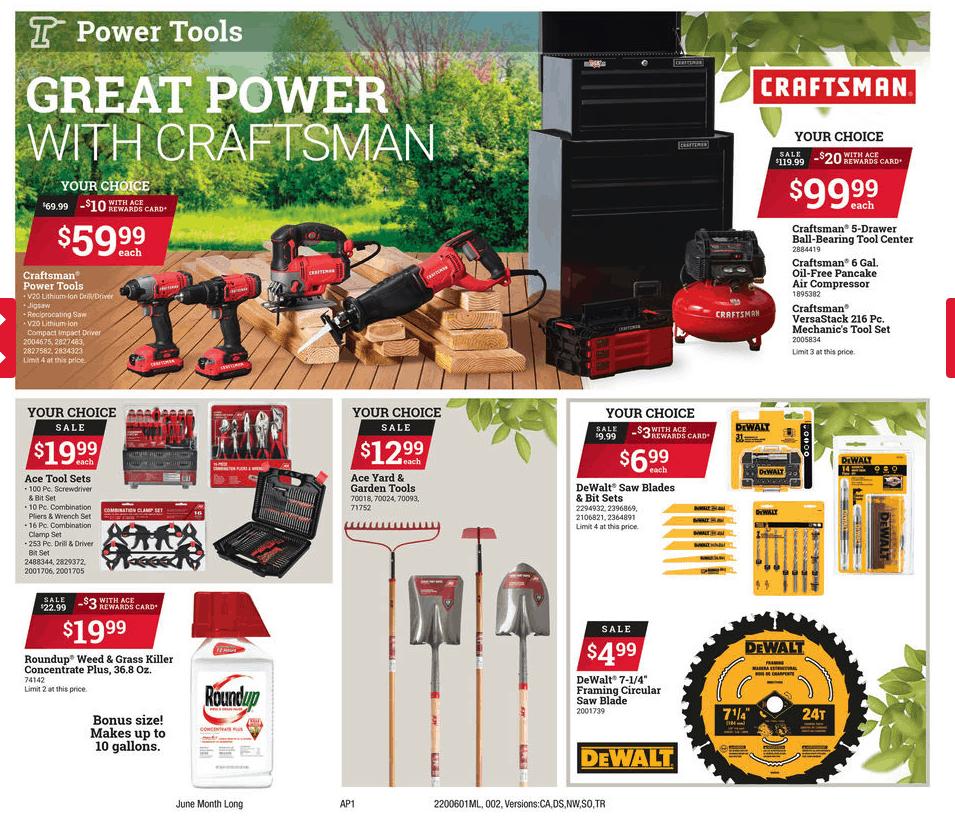 June Sales Ace Hardware of Jackson