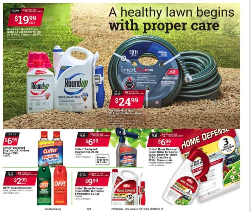 Lawn care Supplies Ace Hardware